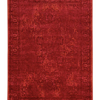 "Kenneth Mink Spectrum Mod Heriz Rose 7'10"" x 10'10"" Area Rug"