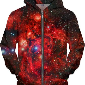 Lobster Nebula | Universe Galaxy Nebula Star Clothes | Rave & Festival Shirt