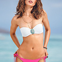 Jeweled Push-Up Bandeau Top - Beach Sexy - Victoria's Secret