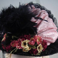 Girls Victorian Tea Party Hat #223