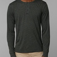 The Narrows Speckled Henley Tee - Urban Outfitters