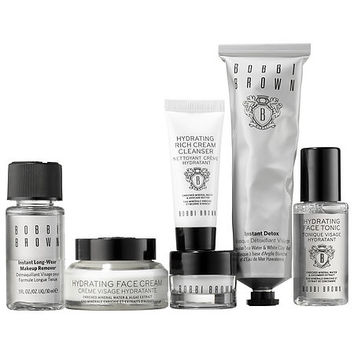 Sephora: Bobbi Brown : Bobbi To The Rescue Detox & Hydrate Set : skin-care-sets-travel-value