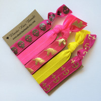 The Lily Hair Tie -Ponytail Holder Collection by Elastic Hair Bandz