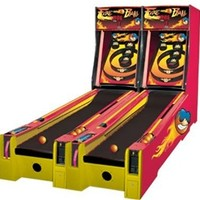 Bay-Tek Fireball Alley Roller | Redemption Arcade Games | Monkeys Arcades | Lowest Prices Guaranteed