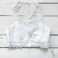 Love Song Bralette - Ivory