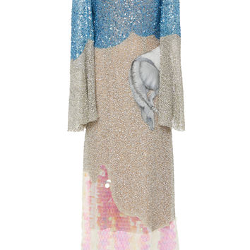 Sequin Midi Dress | Moda Operandi