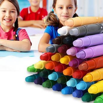 Grasp Top level oil pastel chalks kids  crayons  art pastel  pen cheap Drawing painting for children Free shipping