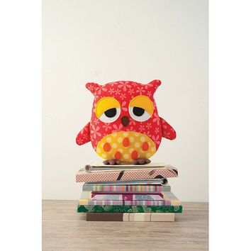 Wooksy the Owl Toy Sewing Pattern