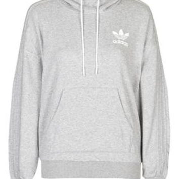 French Bulldog Hoodie by Adidas Originals - Grey