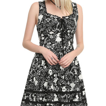Disney Alice In Wonderland Sweetheart Dress