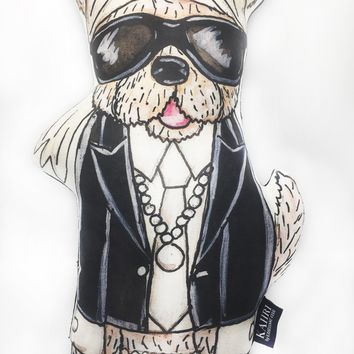 Karl Lagerwoof Pillow