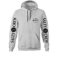 Salty Crew Striped Bass Pull Over Hoodie