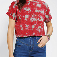 Urban Outfitters - Motel Vintage X Urban Renewal Boxy Cropped Tee
