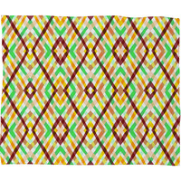 Budi Kwan Links Woods Fleece Throw Blanket
