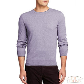 The Men's Store at Bloomingdale's Cashwool Crewneck Sweater, Lilac, XXL