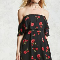 Off-the-Shoulder Poppy Dress