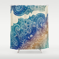 Mermaid Princess  Shower Curtain by Rskinner1122
