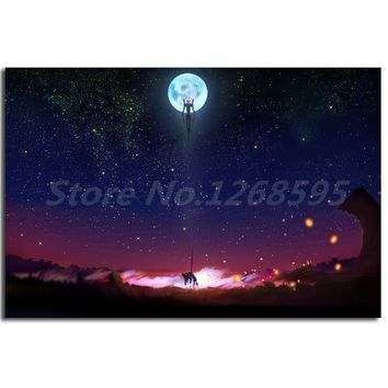 Anime Neon Genesis Evangelion Wallpaper Wall Art Canvas Posters Prints Painting Wall Pictures For Modern Living Room Home Decor