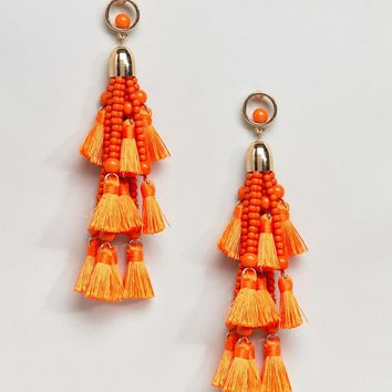 Ivyrevel Multi Tassel Earrings at asos.com