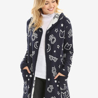 Sailor Moon Hooded Open Cardigan