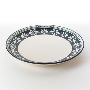 Bobby Flay Marbella 16-in. Round Platter (Blue)