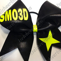 Custom made cheerbows