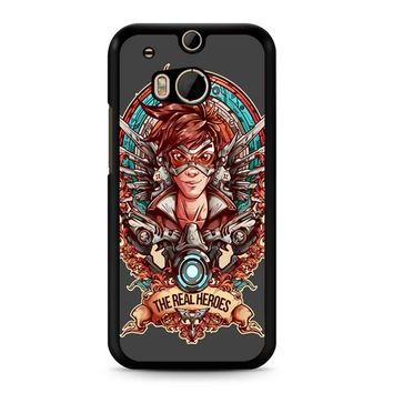 Overwatch Agent Tracer The Real Heroes HTC M8 Case