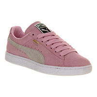 Puma Suede Classic Pastel Pink White - Unisex Sports
