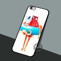 Finding Dory Gallery - iPhone 7 6 5 SE Cases & Covers #cartoon #animated #FindingNemo