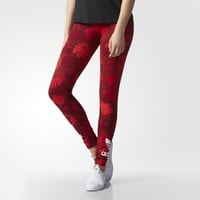 """Adidas"" Fashion Safflower Print Exercise Fitness Gym Yoga Running Leggings Sweatpants Leggings"