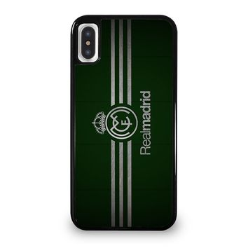 FC REAL MADRID GREEN iPhone 5/5S/SE 5C 6/6S 7 8 Plus X/XS Max XR Case Cover