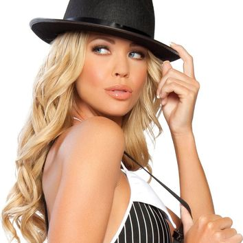 Roma RM-GH103 Gangster Hat with Black