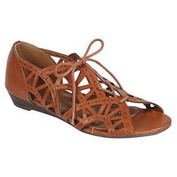 Attention 																	 					Women's Barley Chopout Ghille - Cognac