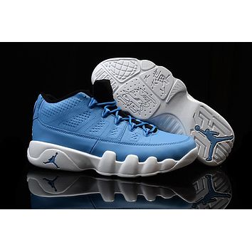 Nike Air Jordan 9 Retro Low Blue/white Men Sport Shoe Size Us 7 13 | Best Deal Online