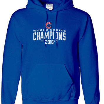 2016 Chicago Cubs World Series Champions Hoodie Hooded Sweatshirt
