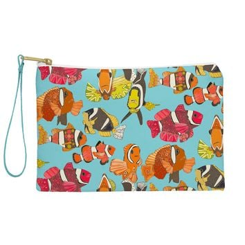 Sharon Turner Clownfish Blue Pouch