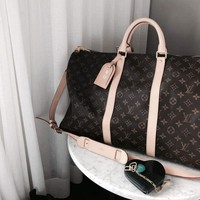 LV tide brand female large capacity handbag messenger bag