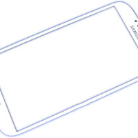 For Samsung Galaxy S4 Touch Glass Screen White