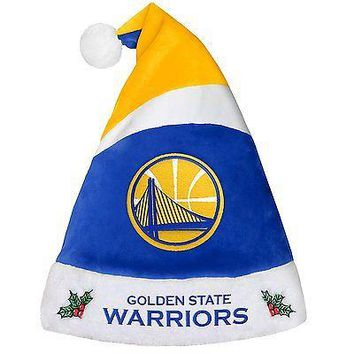 Golden State Warriors Holiday Christmas Santa Hat NBA Ships From The Bay !