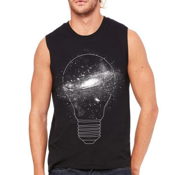 Sparkle - unlimited ideas Muscle Tank