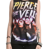Pierce The Veil Looking Up Muscle Girls Top