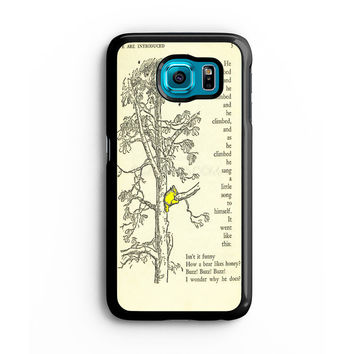 winnie the pooh book and tree Samsung S6 s5 s4 S3 Case, Note 3 4 5 Case, iPhone 6s 5s 5c 4s Cases, iPod case, HTC case, Xperia Z3 case, LG G3 Nexus case, iPad cases