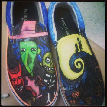 The Nightmare Before Christmas shoes, custom made