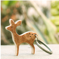 Deer Key Ring