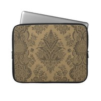 Antique Lace Brown Computer Sleeve from Zazzle.com