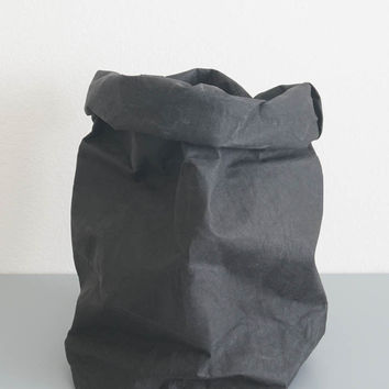 Black Paper Storage Bag - Large
