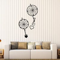 Vinyl Wall Decal Dreamcatcher Romantic Bedroom Decoration Stickers Unique Gift (402ig)