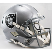 Oakland Raiders Speed Replica Football Helmet