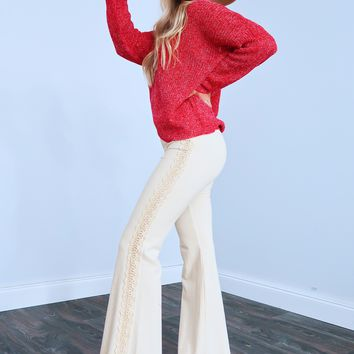 That Fall Feeling Sweater: Red