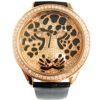 Melissa Best Selling Leopard Face Ladies Watch F11307 - GULLEITRUSTMART.COM